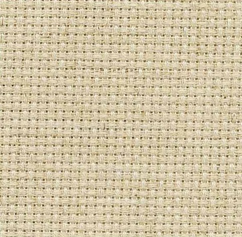 Clearance Fabric Flair Oatmeal ~ 16 Count Aida ~ Fat Quarter