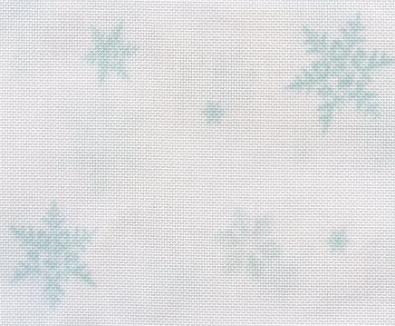 Clearance Fabric Flair Snowflakes ~ 32 Count Evenweave ~ Fat Quarter