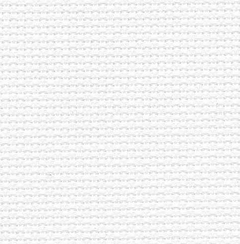 Clearance Fabric Flair White ~ 16 Count Aida ~ Fat Quarter