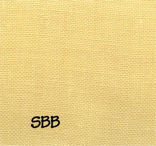 Clearance Graziano Yellow ~ 28 Count Milan Linen ~ Fat Half