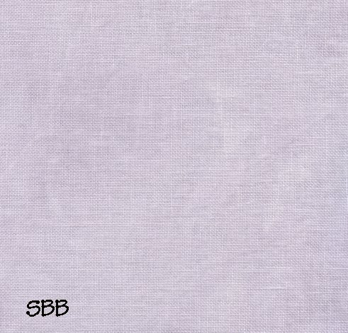 Clearance Stitches and Spice Wisteria Blooms Pale Lilac ~ 32 Count Belfast ~ Fat Quarter
