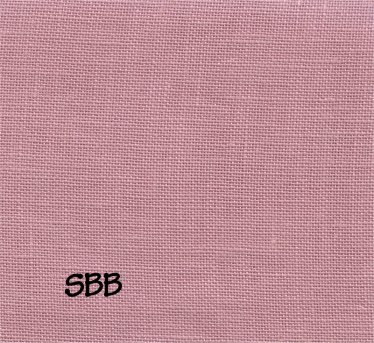 Clearance Zweigart Linen Ash Rose ~ 36 Count Edinburgh ~ Yard