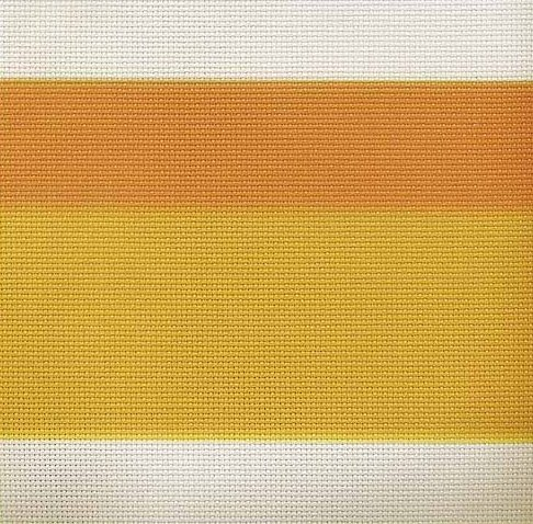 Fabric Flair 14 Count Aida Candy Corn 5338