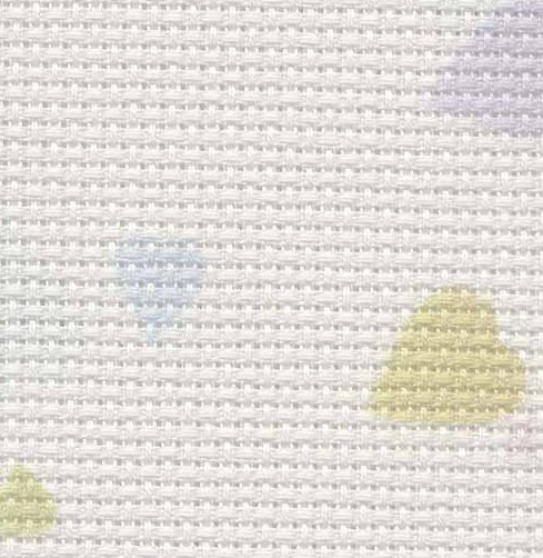 Fabric Flair 14 Count Aida Conversation Hearts 5342