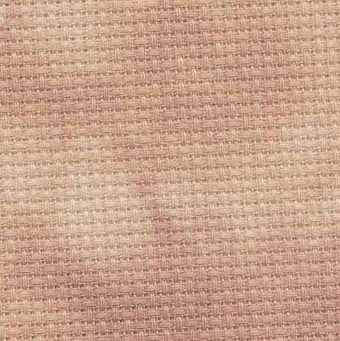 Fabric Flair 14 Count Aida Pecan 8239