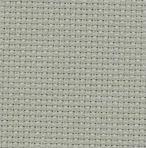 Fabric Flair 14 Count Aida Smokey Blue 4063