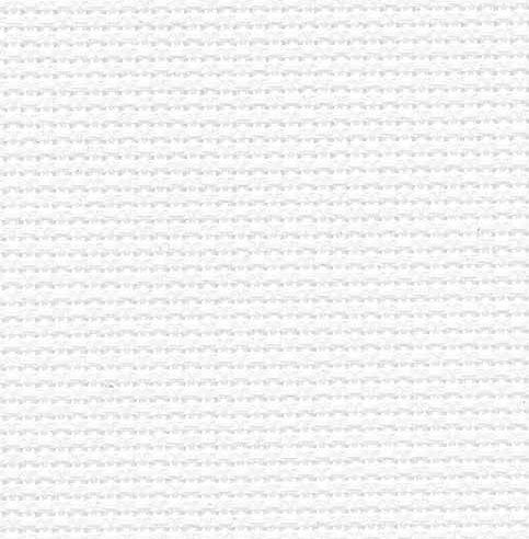 Fabric Flair 16 Count Aida White/Silver 5344