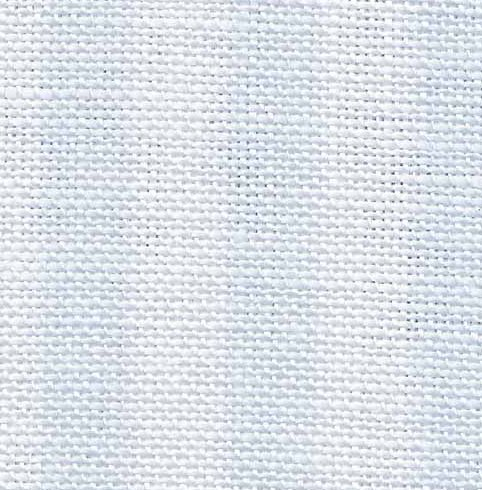 Fabric Flair 28 Count Evenweave Parisian Blue Stripe 4184
