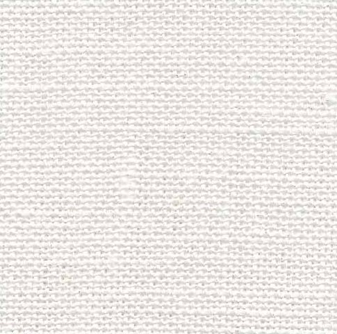 Fabric Flair 28 Count Linen White/Silver 4165