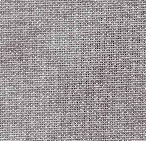 Fabric Flair 32 Count Evenweave Twilight Hand Dyed Silver 7827