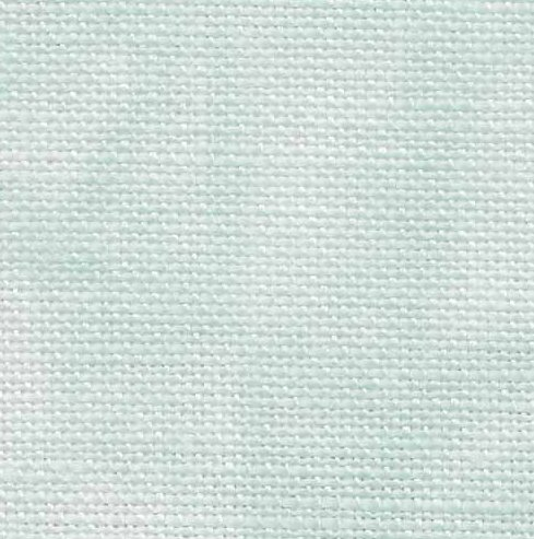 Fabric Flair 36 Count Linen Aqua Hand Dyed 7217