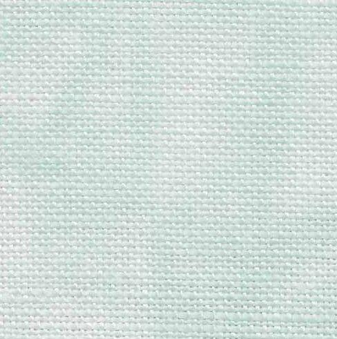 Fabric Flair 40 Count Linen  Aqua 7500