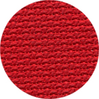 Permin 14 Count Aida Christmas Red 35730