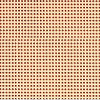 Permin 14 Count Perforated Paper PP08 Peach Sorbet