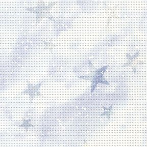 Permin 14 Count Stylized Perforated Paper PP301 Star Light Violet