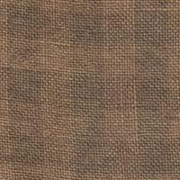 Weeks Dye Works 28 Count Gingham Linen Natural/Cocoa