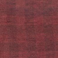 Weeks Dye Works 28 Count Gingham Linen Natural/Aztec Red