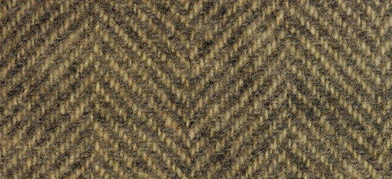 Weeks Dye Works Herringbone Wool1220 Camel