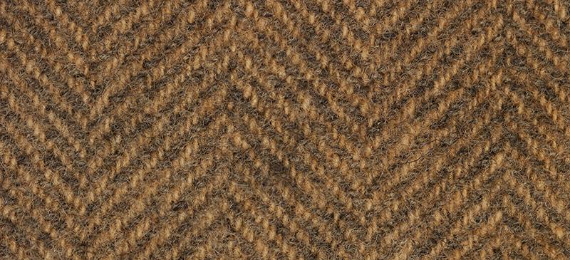 Weeks Dye Works Herringbone Wool1228 Pecan