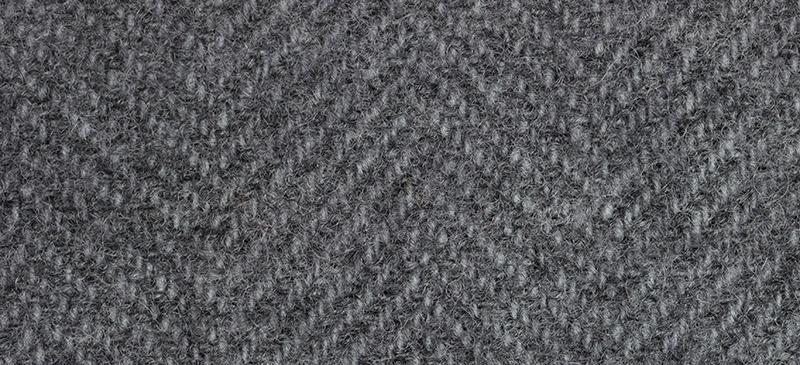 Weeks Dye Works Herringbone Wool1298 Gunmetal
