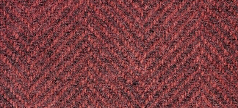 Weeks Dye Works Herringbone Wool1333 Lancaster Red