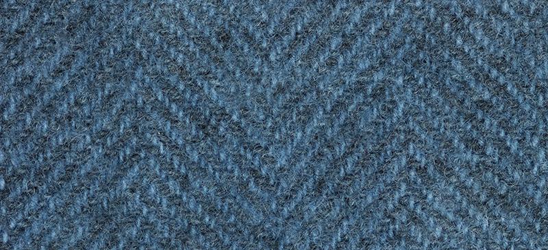 Weeks Dye Works Herringbone Wool2104 Deep Sea