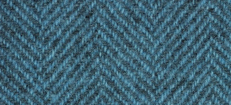 Weeks Dye Works Herringbone Wool2118 Blue Topaz