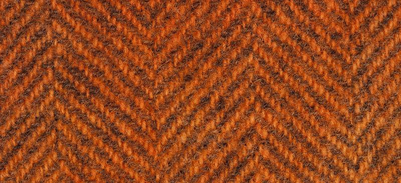 Weeks Dye Works Herringbone Wool2228 Pumpkin