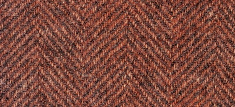 Weeks Dye Works Herringbone Wool2243 Cantaloupe