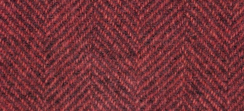 Weeks Dye Works Herringbone Wool2245 Grapefruit