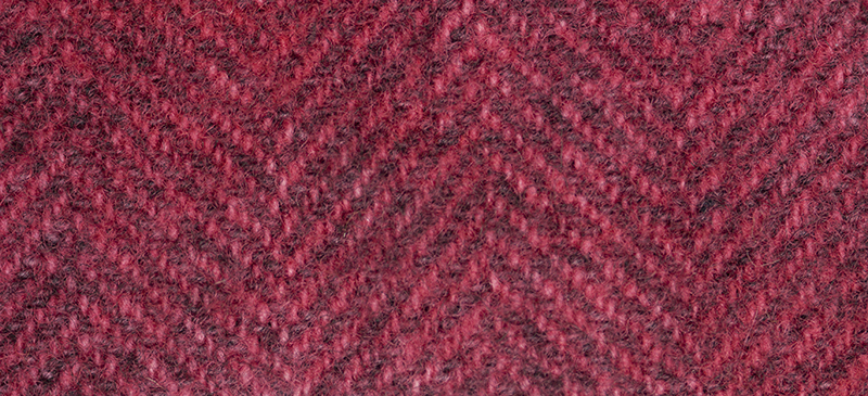 Weeks Dye Works Herringbone Wool2263 Begonia