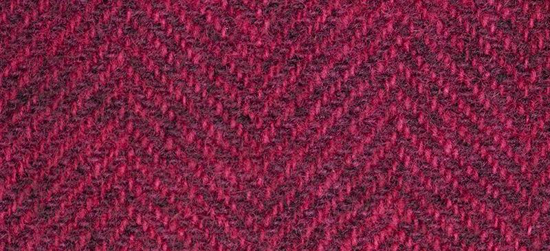 Weeks Dye Works Herringbone Wool2264 Garnet