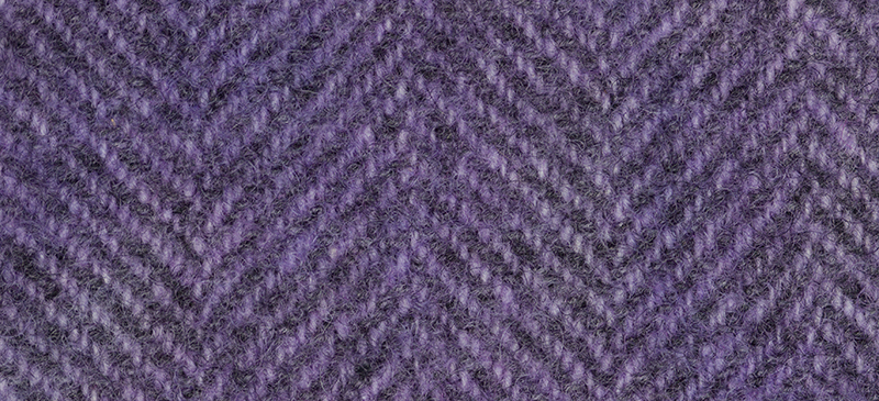 Weeks Dye Works Herringbone Wool2316 Iris