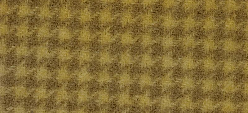 Weeks Dye Works Houndstooth Wool1115 Banana Popsicle