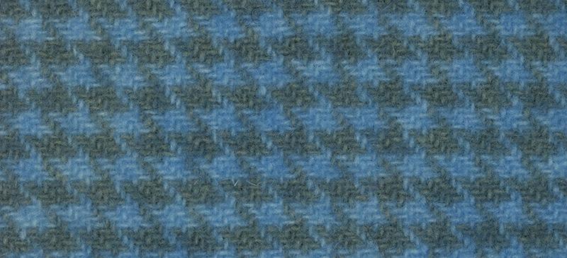 Weeks Dye Works Houndstooth Wool2117 Electric Blue
