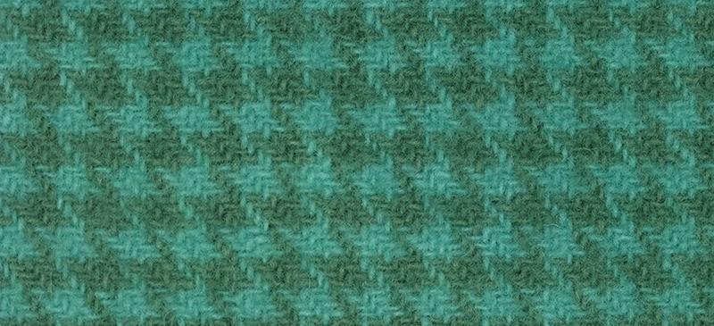 Weeks Dye Works Houndstooth Wool2136 Caribbean