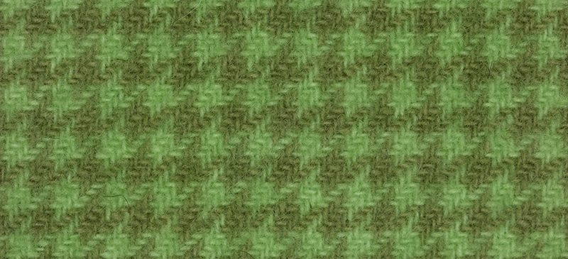 Weeks Dye Works Houndstooth Wool2191 Granny Smith