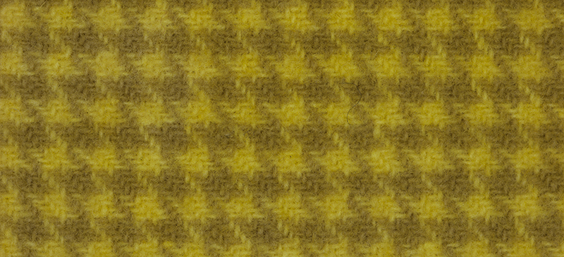 Weeks Dye Works Houndstooth Wool2217 Lemon Chiffon