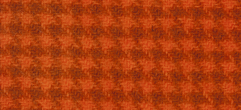 Weeks Dye Works Houndstooth Wool2228 Pumpkin
