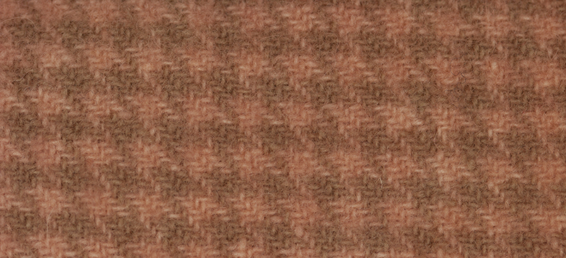 Weeks Dye Works Houndstooth Wool2247 Flamingo