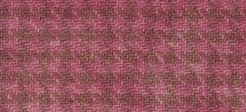 Weeks Dye Works Houndstooth Wool2248 Cherry Vanilla