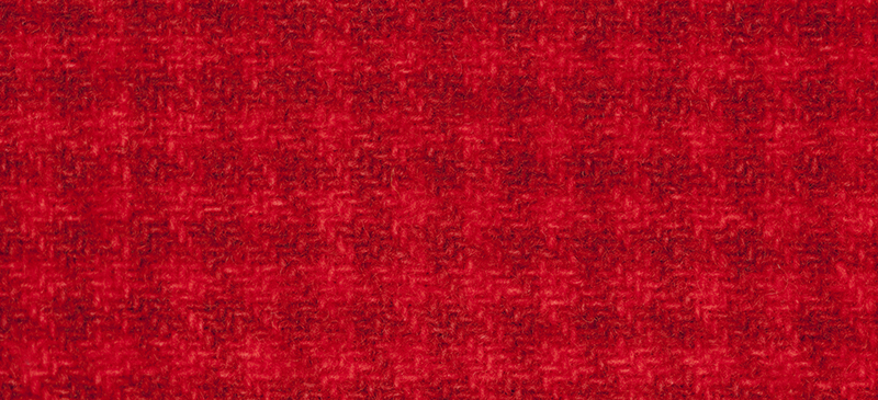 Weeks Dye Works Houndstooth Wool2268a Candy Apple