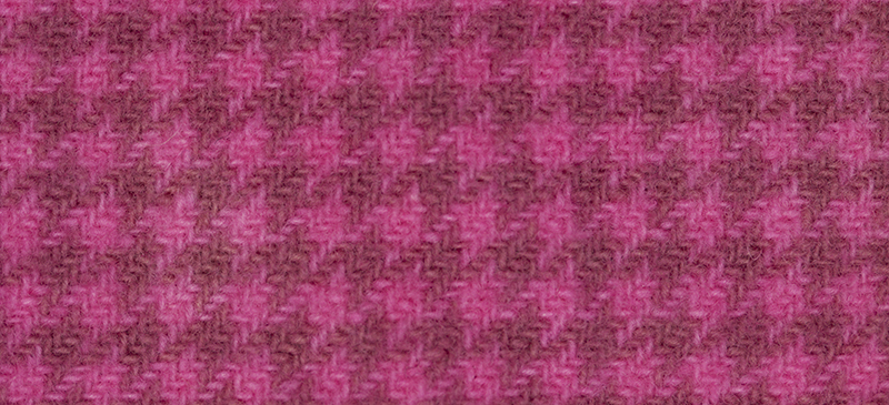 Weeks Dye Works Houndstooth Wool2275a Bubble Gum