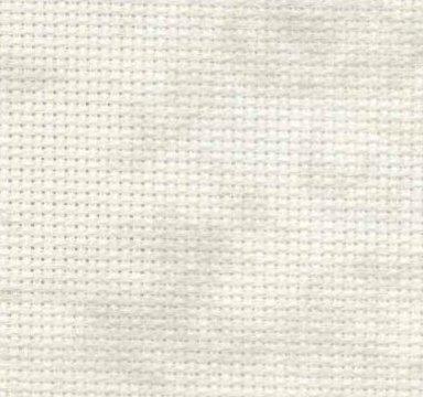 Zweigart 18 Count Aida Vintage Smokey White 3793-1079