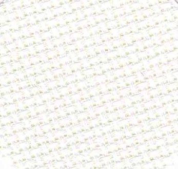 Zweigart 18 Count Aida White 3793-100