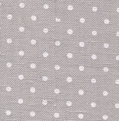 Zweigart 36 count Edinburgh LinenPetit Point Gray/White 3217-7349