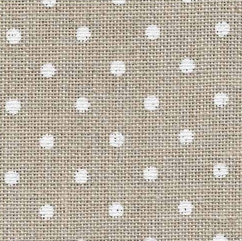Zweigart 36 count Edinburgh LinenPetit Point Raw/White 3217-5379