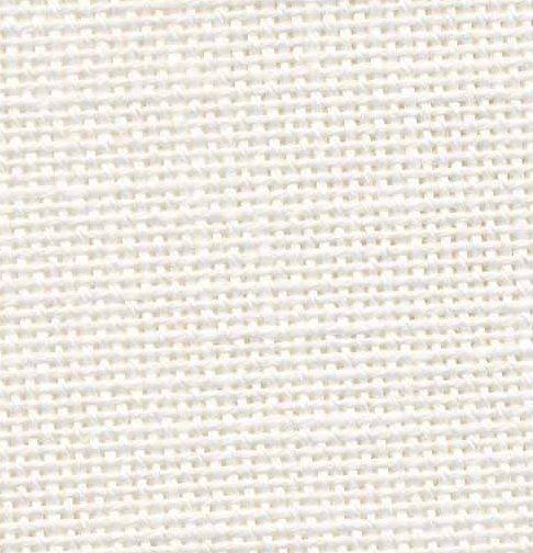 Zweigart 22 Count Fine Ariosa Evenweave Antique White (55