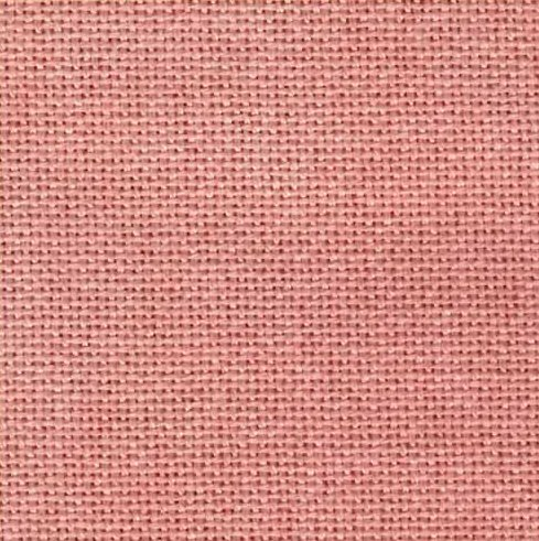 Zweigart 28 Count Lugana Pink Sandy Beaches 3270-570