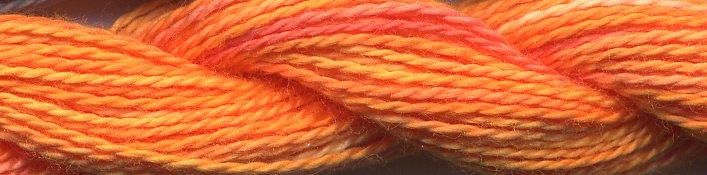 Caron Collection Wildflowers0208 Tangerine